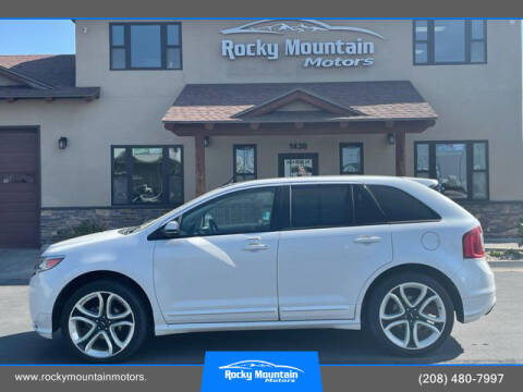 2013 Ford Edge for sale at Rocky Mountain Motors in Idaho Falls ID