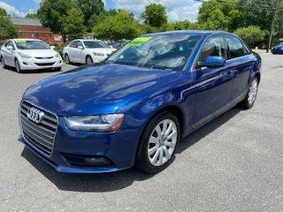 2013 Audi A4 for sale at Starmount Motors in Charlotte NC