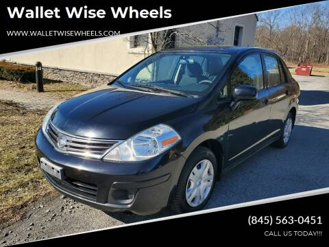 2010 Nissan Versa for sale at Wallet Wise Wheels in Montgomery NY