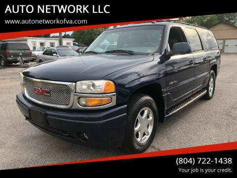 2005 GMC Yukon XL for sale at AUTO NETWORK LLC in Petersburg VA