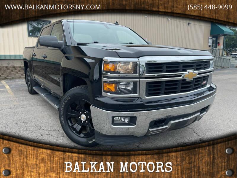 2014 Chevrolet Silverado 1500 for sale at BALKAN MOTORS in East Rochester NY