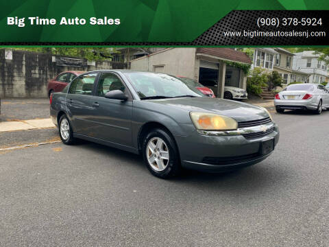 2004 Chevrolet Malibu for sale at Big Time Auto Sales in Vauxhall NJ