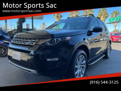2016 Land Rover Discovery Sport for sale at Motor Sports Sac in Sacramento CA