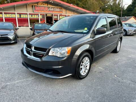 2015 Dodge Grand Caravan for sale at Mira Auto Sales in Raleigh NC
