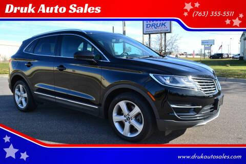 2017 Lincoln MKC for sale at Druk Auto Sales in Ramsey MN