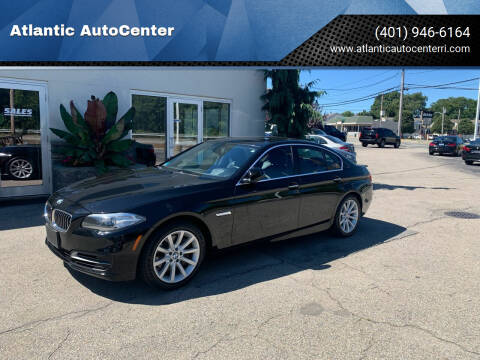 2014 BMW 5 Series for sale at Atlantic AutoCenter in Cranston RI