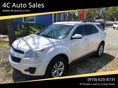 2012 Chevrolet Equinox for sale at 4C Auto Sales in Wilmington NC