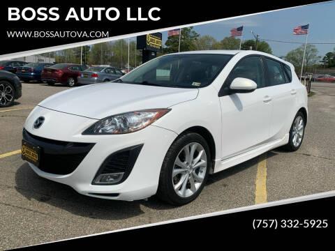 2011 Mazda MAZDA3 for sale at BOSS AUTO LLC in Norfolk VA