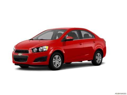 2013 Chevrolet Sonic for sale at Carros Usados Fresno in Fresno CA