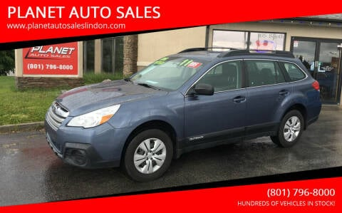 2014 Subaru Outback for sale at PLANET AUTO SALES in Lindon UT