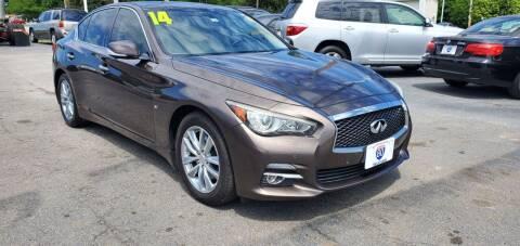 2014 Infiniti Q50 for sale at I-80 Auto Sales in Hazel Crest IL