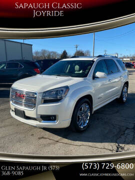 2015 GMC Acadia for sale at Sapaugh Classic Joyride in Salem MO