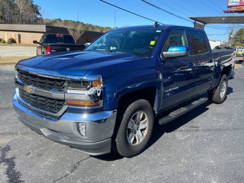 2017 Chevrolet Silverado 1500 for sale at Luxury Auto Innovations in Flowery Branch GA