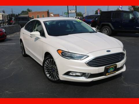 2017 Ford Fusion for sale at AUTO POINT USED CARS in Rosedale MD