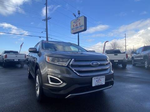 2016 Ford Edge for sale at S&S Best Auto Sales LLC in Auburn WA