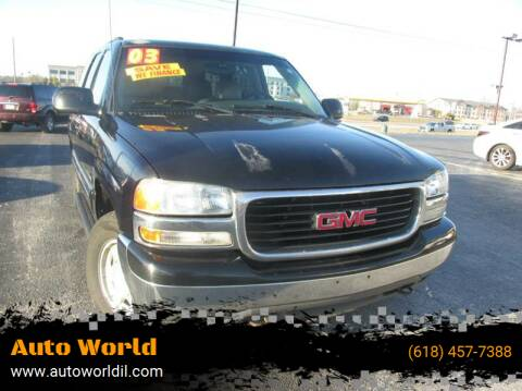 2003 GMC Yukon for sale at Auto World in Carbondale IL