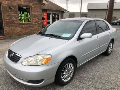 2005 Toyota Corolla for sale at Britton Automotive Group in Loganville GA