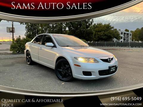 2006 Mazda MAZDA6 for sale at Sams Auto Sales in North Highlands CA
