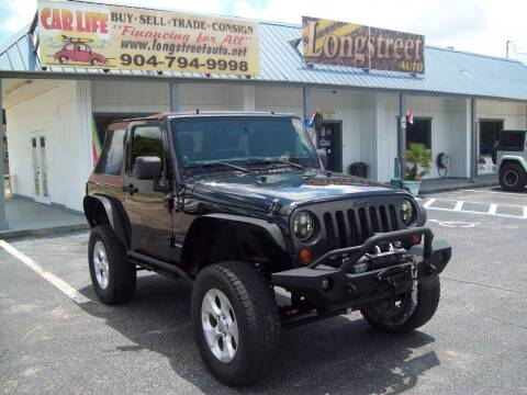 2011 Jeep Wrangler for sale at LONGSTREET AUTO in Saint Augustine FL