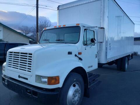 1996 International INTERNATIONAL 4700 26 FT BOX for sale at Freds Auto Sales LLC in Carson City NV