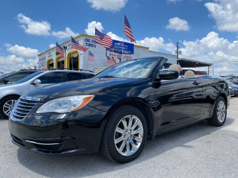 2011 Chrysler 200 Convertible for sale at INTERNATIONAL AUTO BROKERS INC in Hollywood FL