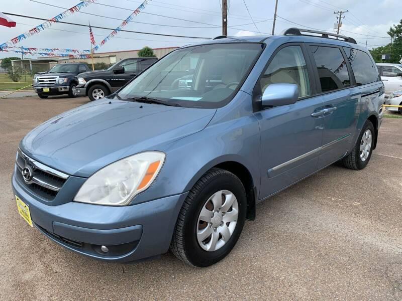 2007 Hyundai Entourage for sale at Rock Motors LLC in Victoria TX