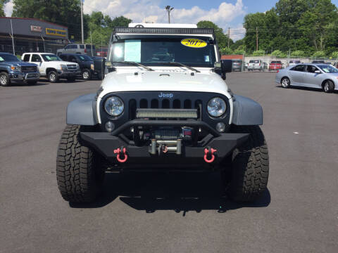 2017 Jeep Wrangler Unlimited for sale at Beckham's Used Cars in Milledgeville GA