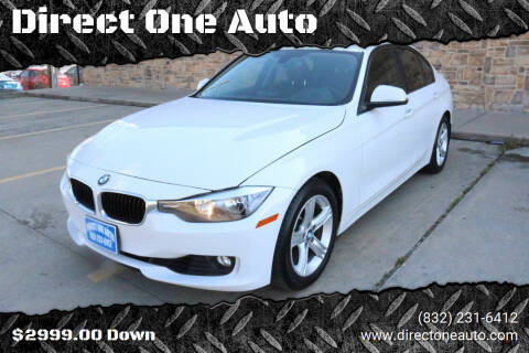 2013 BMW 3 Series for sale at Direct One Auto in Houston TX
