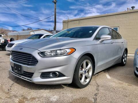 2013 Ford Fusion for sale at Top Gun Auto Sales, LLC in Albuquerque NM