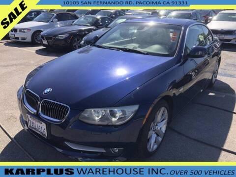 2013 BMW 3 Series for sale at Karplus Warehouse in Pacoima CA