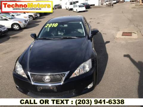 2010 Lexus IS 250 for sale at Techno Motors in Danbury CT