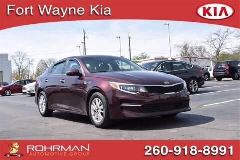 2018 Kia Optima for sale at BOB ROHRMAN FORT WAYNE TOYOTA in Fort Wayne IN