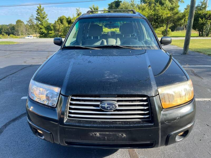2007 Subaru Forester for sale at SHAN MOTORS, INC. in Thomasville NC