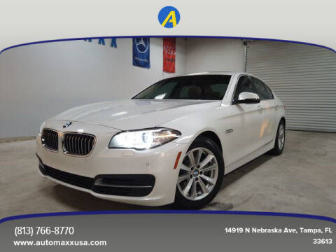 2014 BMW 5 Series for sale at Automaxx in Tampa FL
