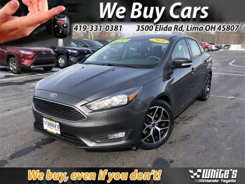 2018 Ford Focus for sale at White's Honda Toyota of Lima in Lima OH