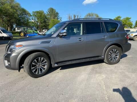 2020 Nissan Armada for sale at SETTLE'S CARS & TRUCKS in Flint Hill VA