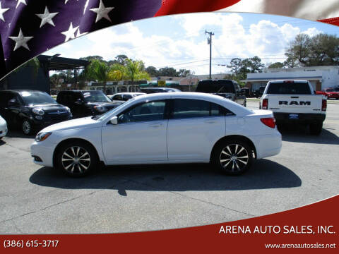 2014 Chrysler 200 for sale at ARENA AUTO SALES,  INC. in Holly Hill FL