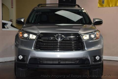 2016 Toyota Highlander for sale at Tampa Bay AutoNetwork in Tampa FL