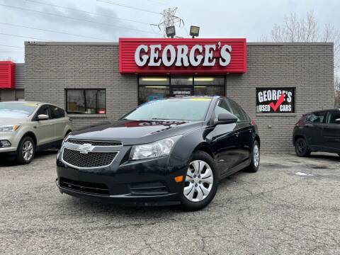 2013 Chevrolet Cruze for sale at George's Used Cars - Telegraph in Brownstown MI