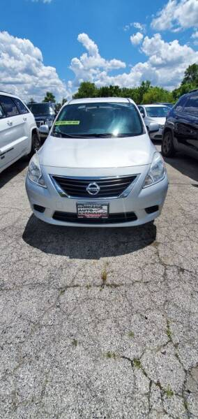 2012 Nissan Versa 1.6 S 4dr Sedan CVT - South Chicago Heights IL