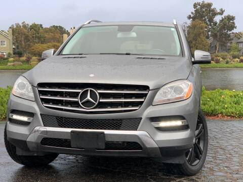 2013 Mercedes-Benz M-Class for sale at Continental Car Sales in San Mateo CA