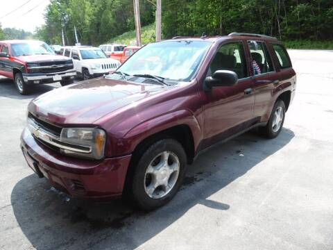 2007 Chevrolet TrailBlazer for sale at East Barre Auto Sales, LLC in East Barre VT