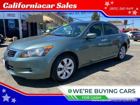 2010 Honda Accord for sale at Californiacar Sales in Santa Maria CA