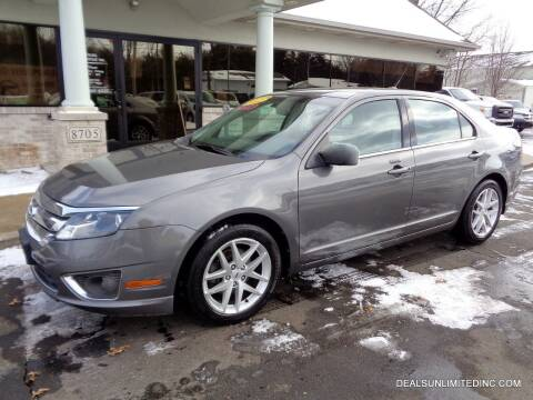 2012 Ford Fusion for sale at DEALS UNLIMITED INC in Portage MI