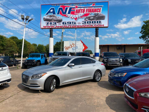 2017 Genesis G80 for sale at ANF AUTO FINANCE in Houston TX