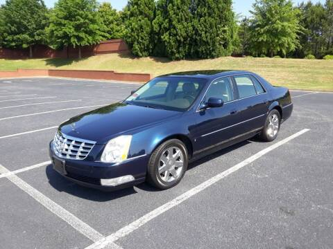 2007 Cadillac DTS for sale at JCW AUTO BROKERS in Douglasville GA