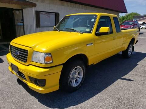 2006 Ford Ranger for sale at Salem Auto Sales in Salem VA
