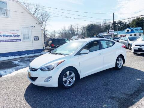 2013 Hyundai Elantra for sale at New Wave Auto of Vineland in Vineland NJ