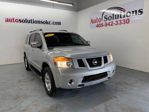 2013 Nissan Armada for sale at Auto Solutions in Warr Acres OK