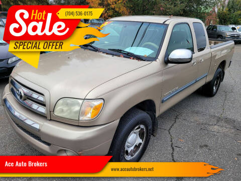 2005 Toyota Tundra for sale at Ace Auto Brokers in Charlotte NC